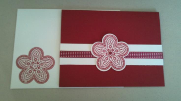 stampin up card I made