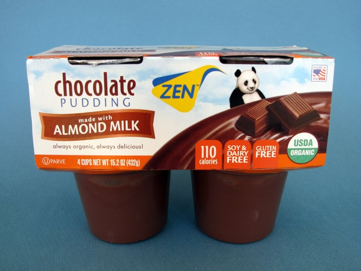 Zen Almond Milk Chocolate Pudding. Had this stuff for the first time a ...