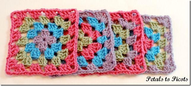 Granny Square Bag Free Pattern : free granny square pattern Crochet Pinterest