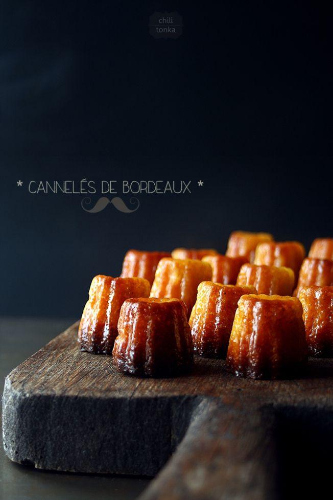 Cannelés de Bordeaux - A canelé is a small French pastry with a soft ...