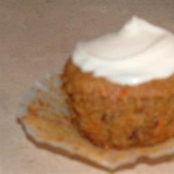 Fluffy Carrot Muffins with Cream Cheese Frosting Allrecipes.com