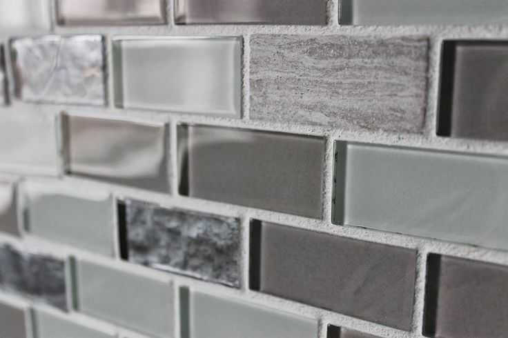Hometalk DIY Glass Tile Accent Wall In Master Bathroom