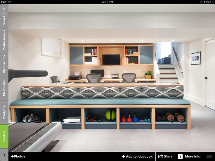 storage bench for home gym dream home pinterest
