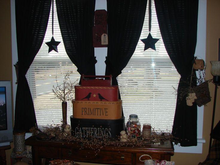 Living Room Primitive Decor Americana Pinterest