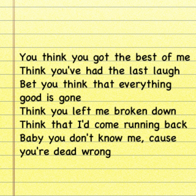 stronger lyrics kelly clarkson