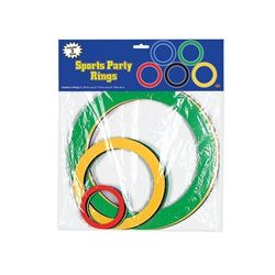 Party Supplies | Olympic DecorationsRecreate the Olympic rings with