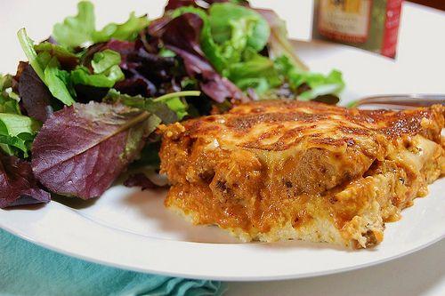 Polenta Pie | Healthy Bytes | Pinterest