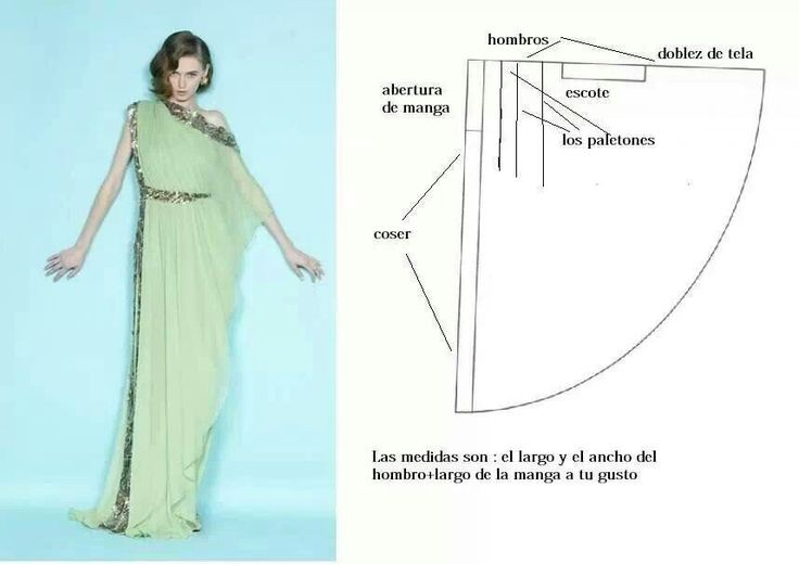 Выкройки платья из шифона своими руками 30