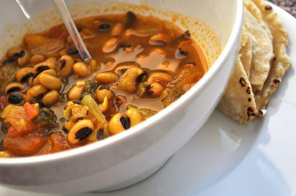 spicy black eyed peas | Savories | Pinterest