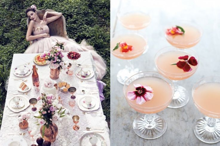 Lillet Rose Spring Cocktail from Martha Stewart, discovered on Sous ...