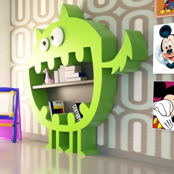 Libreria HArdy per la camera dei bambini