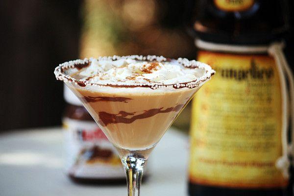 Creamy Frangelico Nutella Martini | Yummy | Pinterest