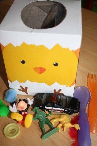 Curious whats inside box teaching my kids pinterest