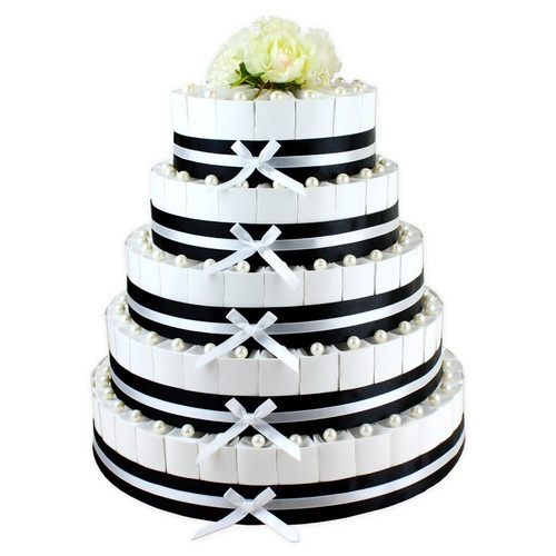 Tiers Wedding Cake Favor Boxes EBay