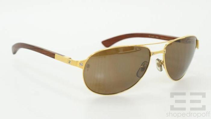 cartier sunglasses santos ls2h  cartier aviator sunglasses santos dumont