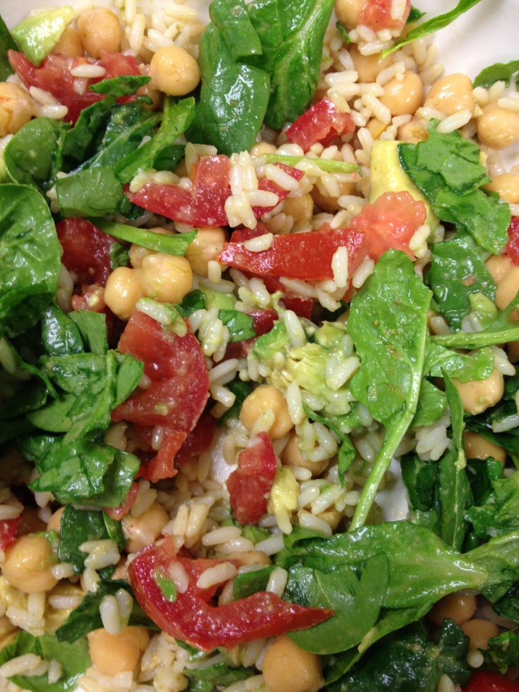 Brown Rice Salad With Cumin And Lime Vinaigrette Recipes — Dishmaps