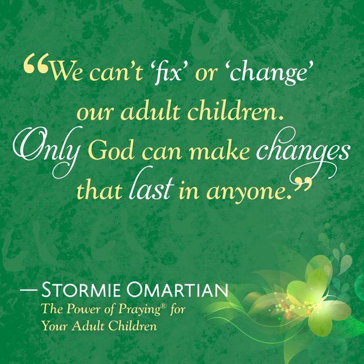 Adult prayer for child