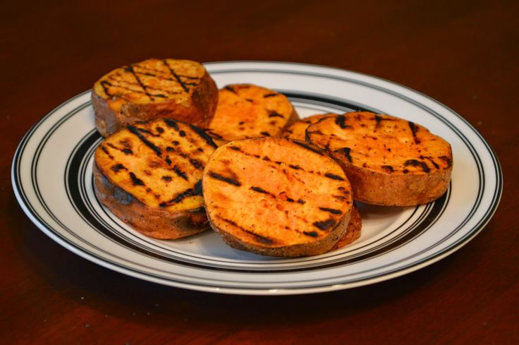 ... Day At A Time - From My Kitchen To Yours: Grilled Sweet Potato Rounds