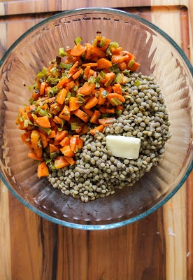 Warm French Lentil Salad - Le Puy lentils scented with clove and onion ...