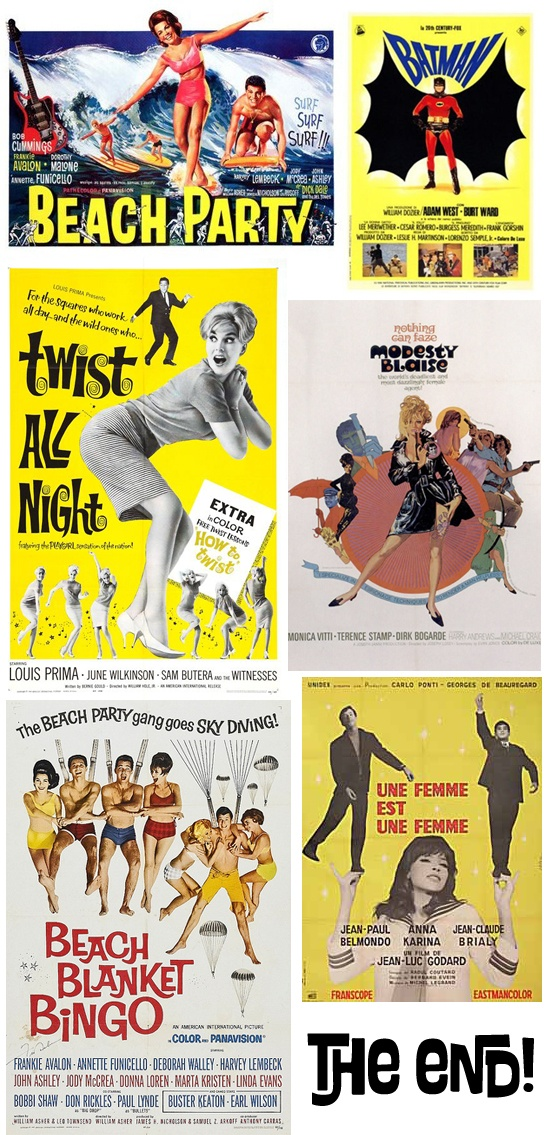 the 60s movie Movies of the 60s  there were many great movies of the 60s from action, spy, westerns and musical i have selected the few i remember and enjoyed watching.