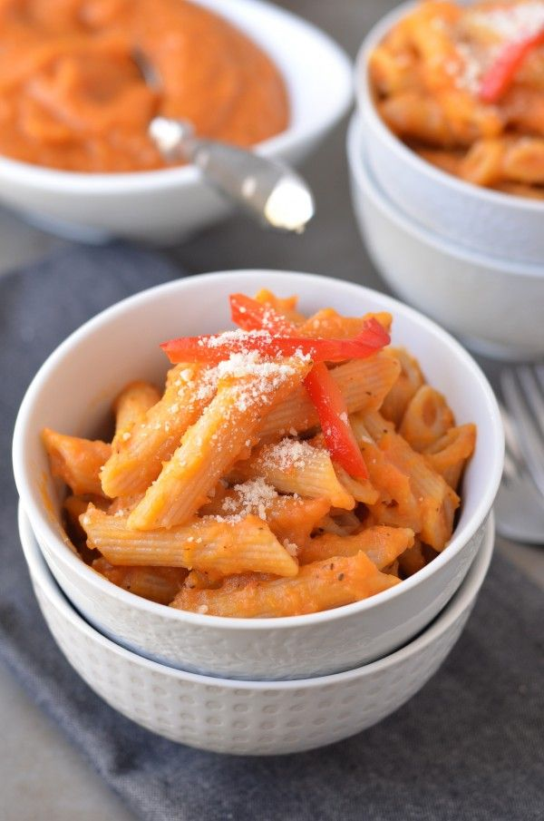 Butternut Squash Pasta Sauce - Made this - delicious! Sweetened with ...