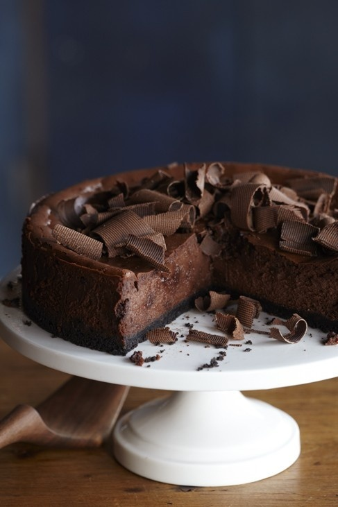 Dark Chocolate Mint Cheesecake | Cheesecake | Pinterest