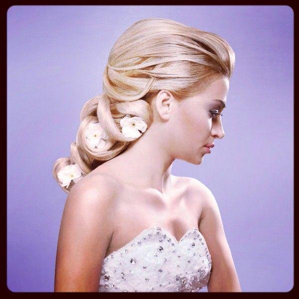 Idée coiffure : Chignon pour mariage, soirée ou cérémonie sur ...
