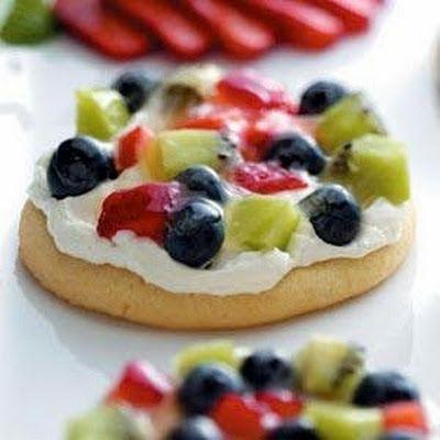 Sugar Cookie Fruit Pizza | Cookies | Pinterest