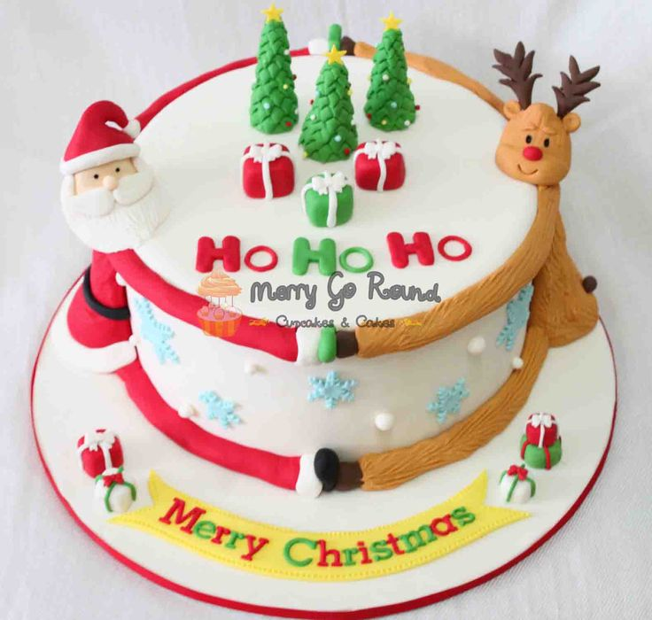 Christmas Cake Packaging Ideas : Christmas Cake design - Google Search Crafting; #DYI ...