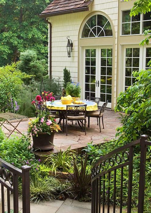 Pin by annie on beautiful backyards outdoor living pinterest Better homes and gardens lifestyle