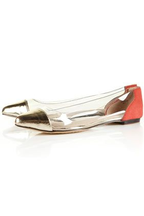 Perspex Point Shoes