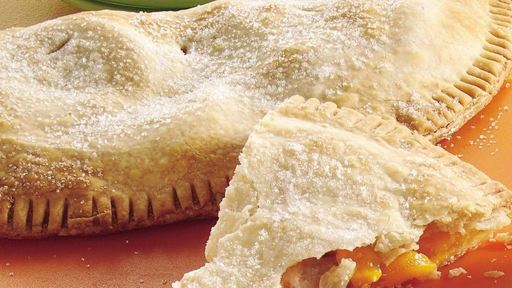 These big, fruit-filled turnovers take just 10 minutes to prepare ...