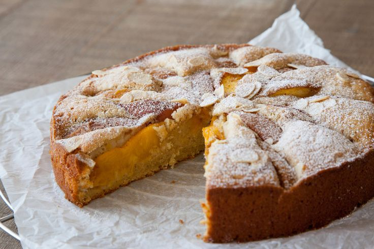 Peach, Lemon and Almond Cake | º º º bake º º º | Pinterest