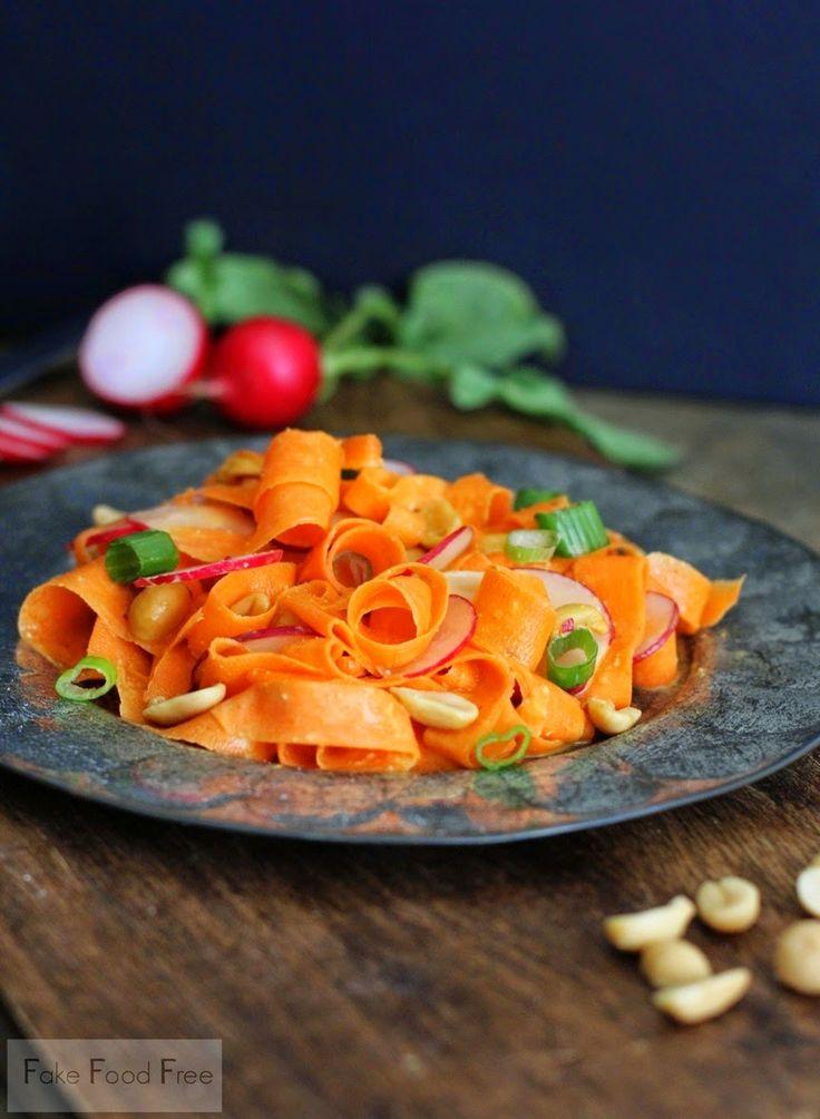 ... Food Free: Carrot and Radish Salad with Peanut Ponzu Dressing Recipe