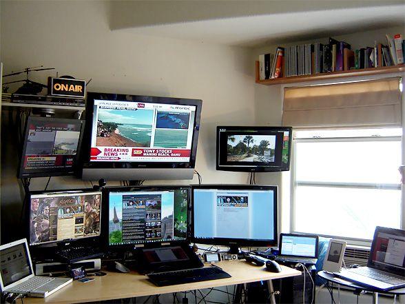 Radio Studio Desk Podcast Studio Pinterest