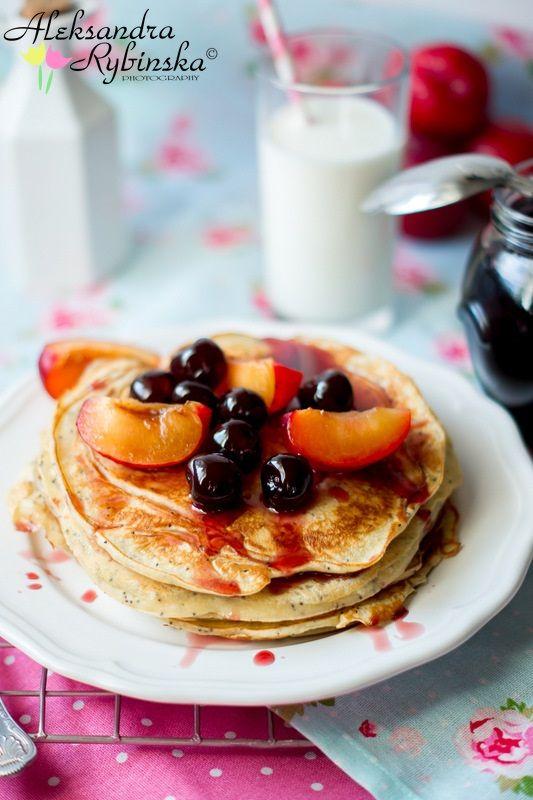 Lemon Ricotta Poppy Seed Pancakes | mmm...food | Pinterest