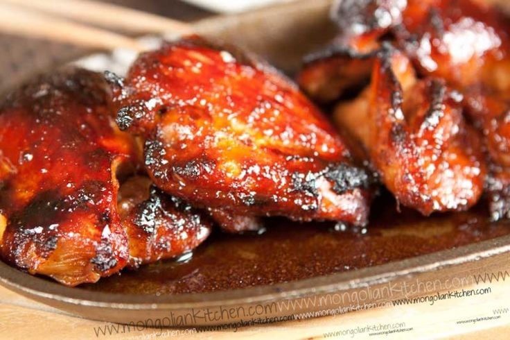 Grilled Chinese Chicken | I Feel Like Chicken Tonight | Pinterest