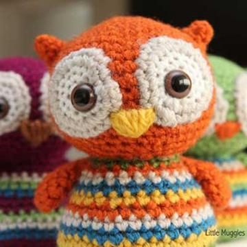 Baby Owl amigurumi crochet pattern Amigurumi dolls ...