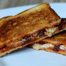 Grilled Cheese Sandwich with Sun-Dried Tomatoes and Harissa Recipe