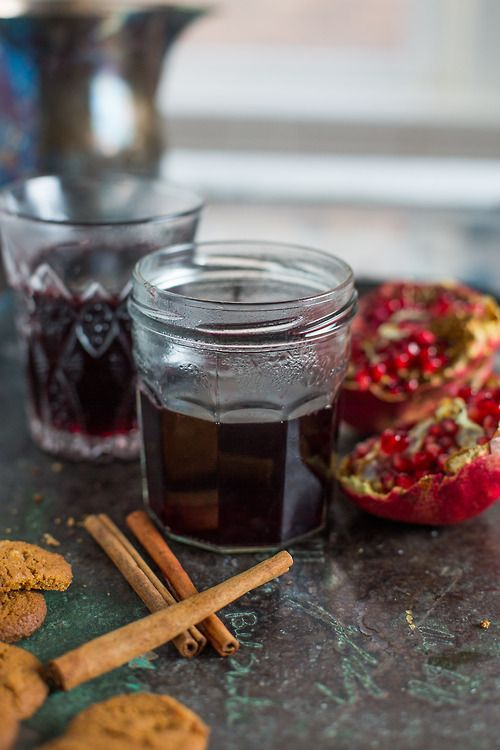 honey-pomegranate mulled wine | tasty things that I'd like to make ...