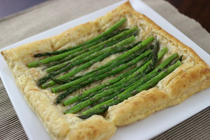 Asparagus and Gruyere Tart #BBFCoconutOil #BetterBodyFoods