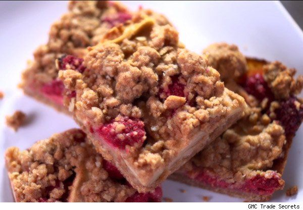 Sam Talbot\'s Apple-Raspberry Breakfast Bars