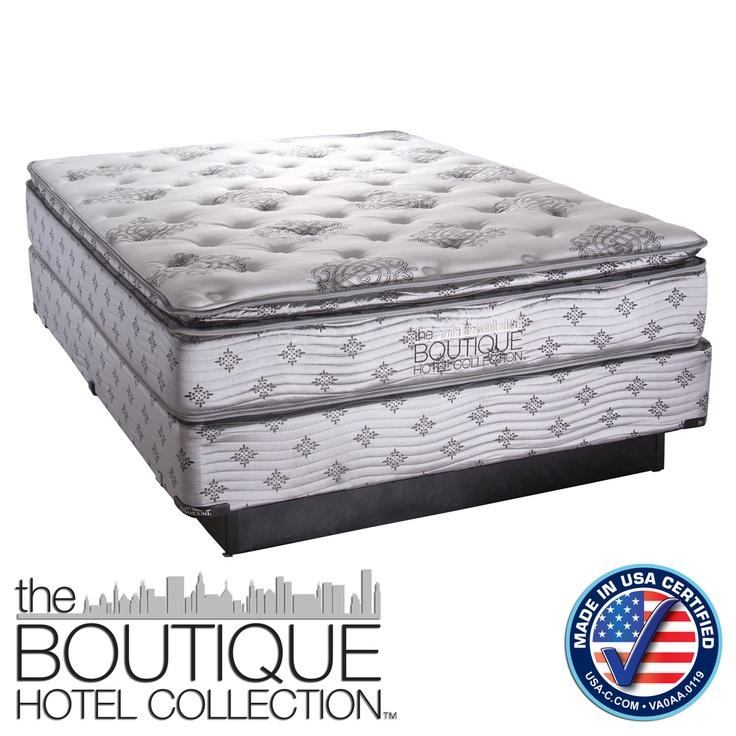 Boutique Hotel Collection Georgia Pillow Top Mattress Set