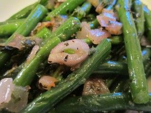 Green Beans with Herb Butter | Favorite Recipes | Pinterest