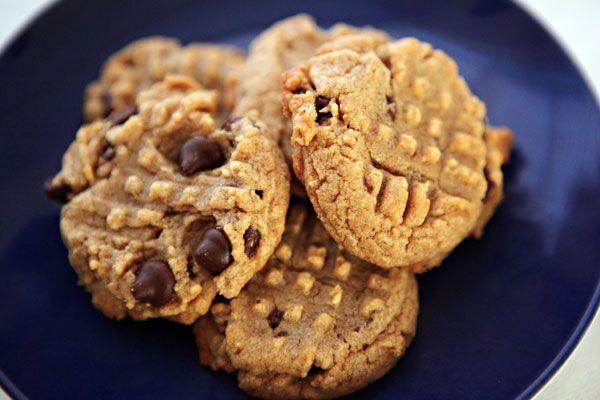 Peanut butter chocolate chip #cookies #glutenfree