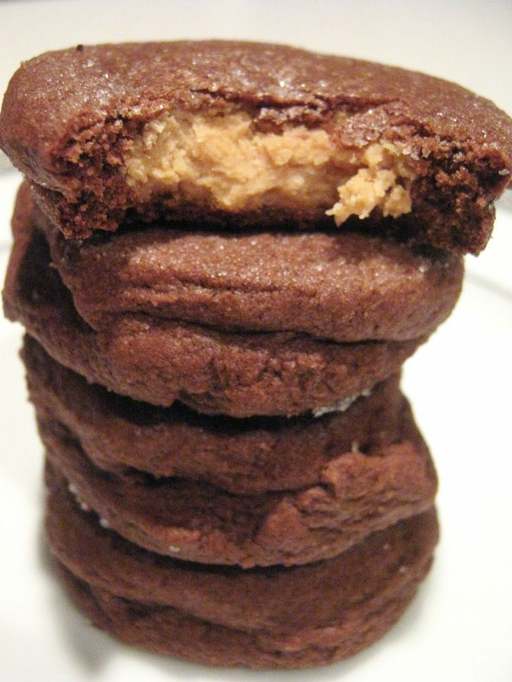 Chocolate Peanut Butter Surprise Cookies | Cookie Cookie Cookie Start ...