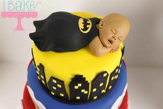 batman baby cake topper baby shower ideas pinterest