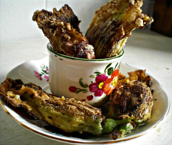 Cashew Cheese-Stuffed Fried Squash Blossoms | Restaurant (Review ...