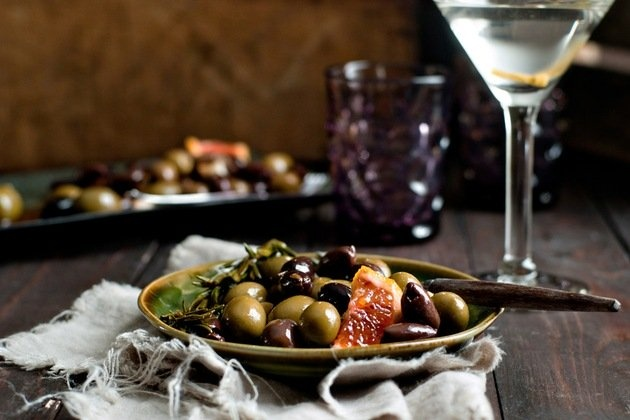 Marinated Olives | Recipe