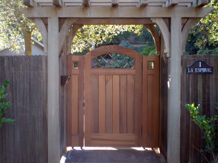 garden gate with arbor garden pinterest
